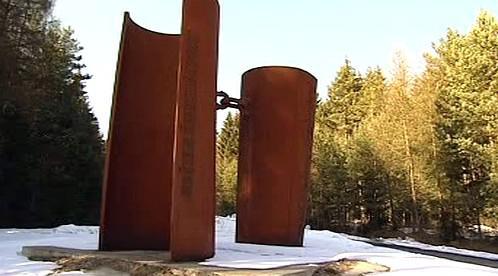 Pomník lidem zastřeleným na hranicích