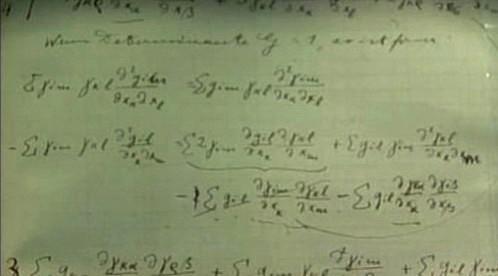 Rukopis Einsteinovy teorie relativity