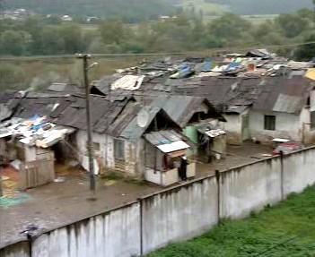 Chudé osady na Slovensku