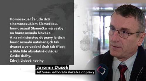 Výrok Jaromíra Duška