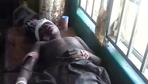 Oběť náboženského násilí v Nigérii
