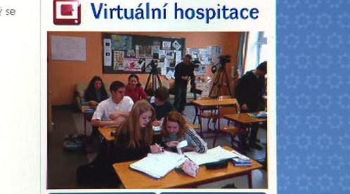 Projekt Virtuální hospitace