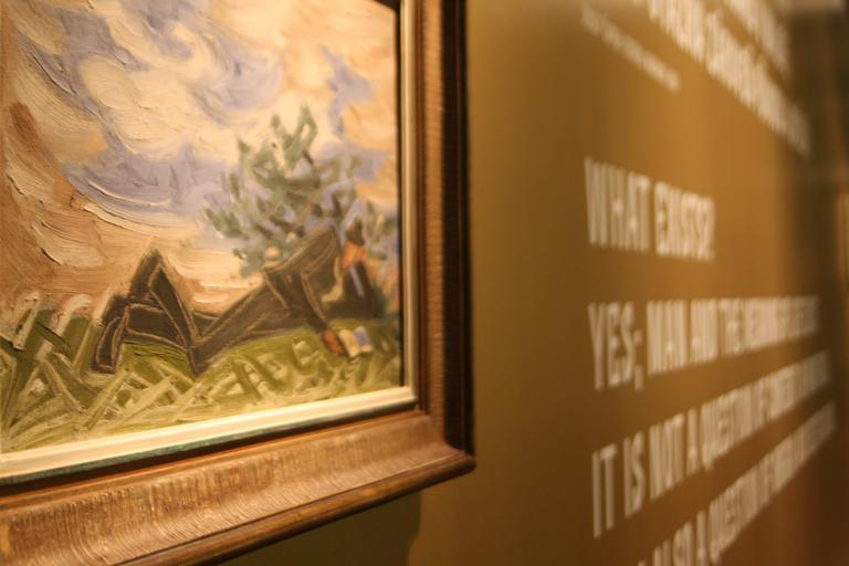 Výstava děl Josefa Čapka