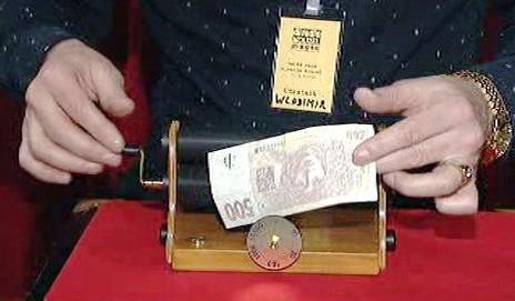 Kouzelná tiskárna na peníze