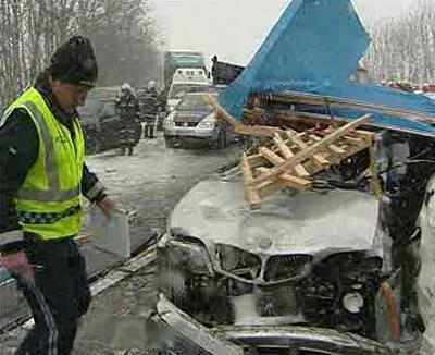 Nehoda v Rakousku