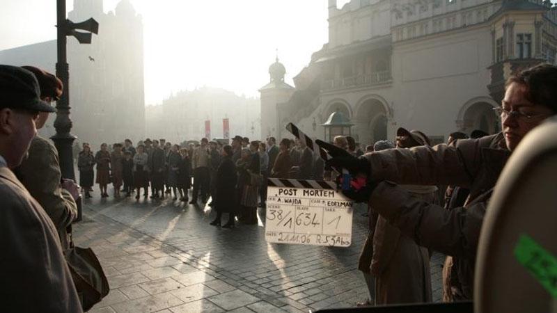 Natáčení filmu Katyň