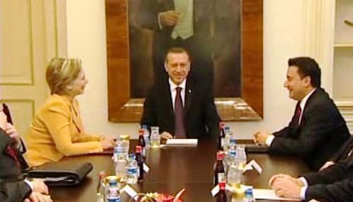 Hillary Clintonová na návštěvě Turecka