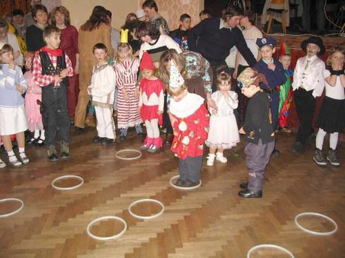 Tradiční dětský karneval v Rozsochách