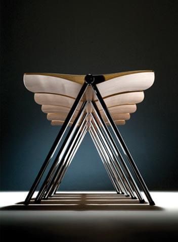 Severská architektura a design / židle