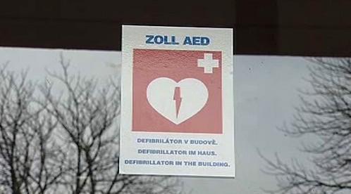Defibrilátory na veřejných místech