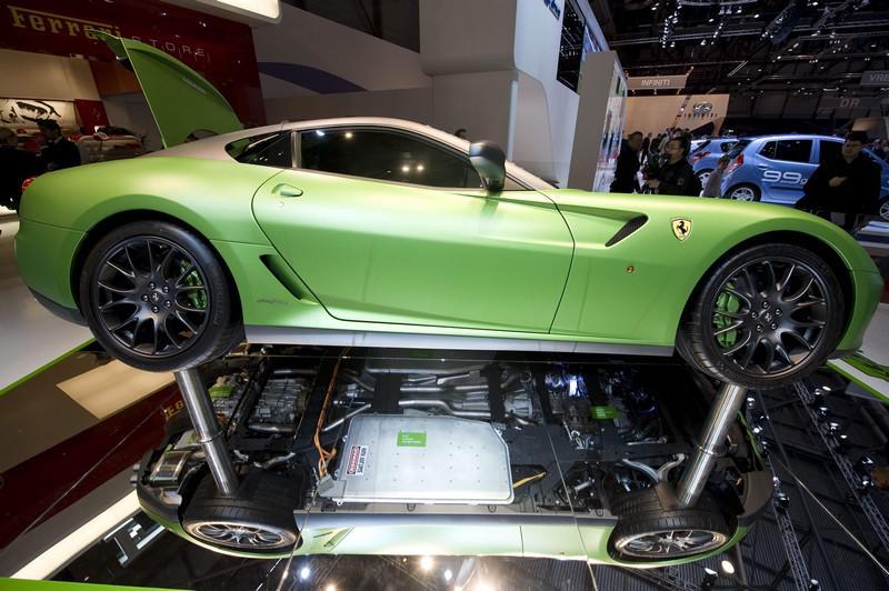 Ferrari  Vettura Laboratorio (hybridní studie)