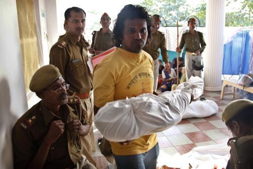 Oběti ušlapání v indické Kundě