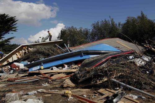 Chile po zemětřesení