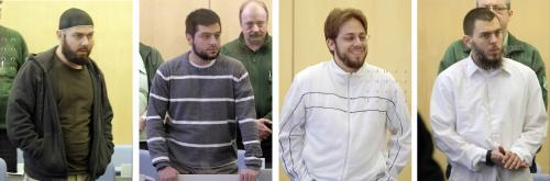 Čtveřice německých islamistů před soudem