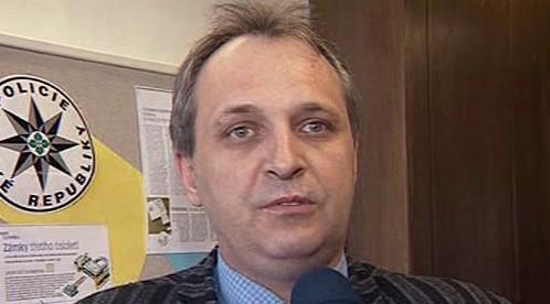 Odvolaný policista Josef Macháček