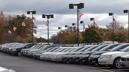 Prodejna s automobily Ford