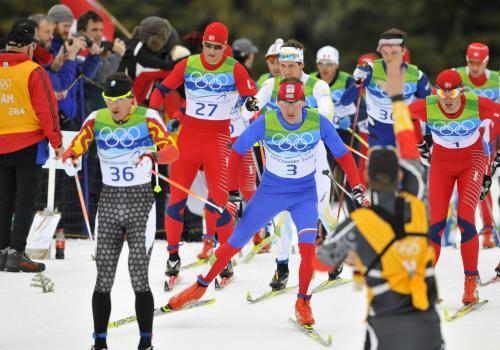 Lukáš Bauer bojuje při závěrečném maratonu o zlato