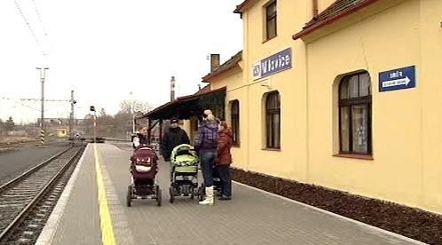 Nádraží v Milovicích