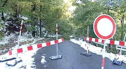 Neprůjezdná silnice na Jablonecku