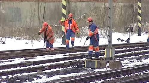 Oprava železniční tratě