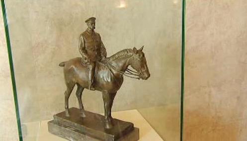 Jezdecká socha Tomáše G. Masaryka
