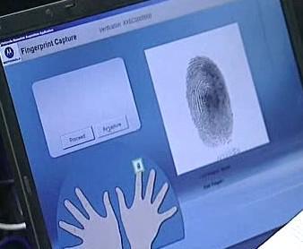 Systém na pořizování otisku prstů