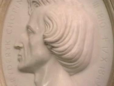 Fryderyk Chopin / reliéf