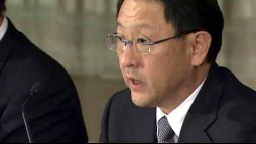 Prezident největší světové automobilky Akio Tojoda
