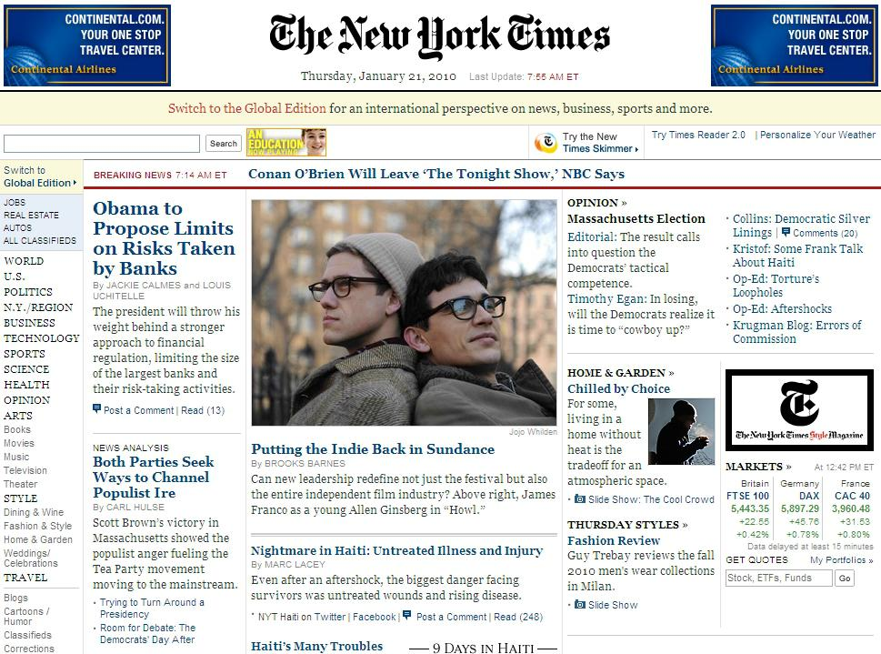 Web New York Times