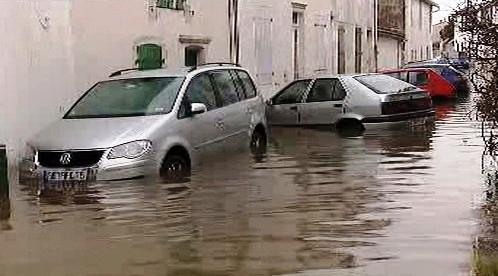 Francii zasáhla bouře Xynthia