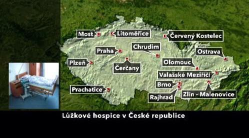 Lůžkové hospice v České republice