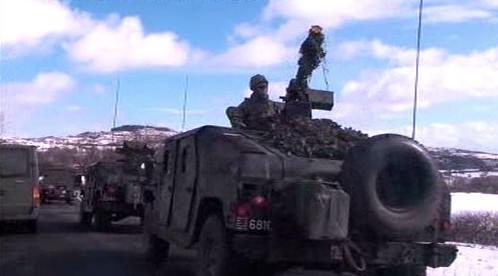 Obrněné vozidlo belgické armády