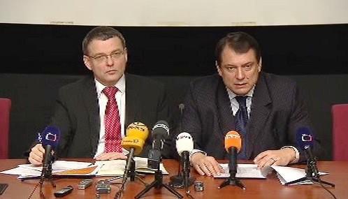 Lubomír Zaorálek a Jiří Paroubek