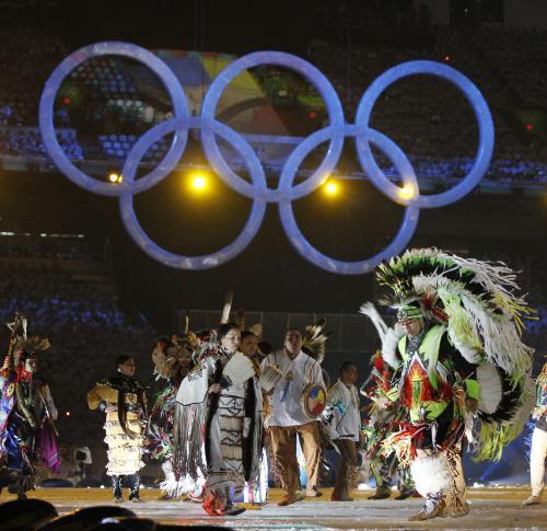 Slavnostní zahájení olympijských her ve Vancouveru