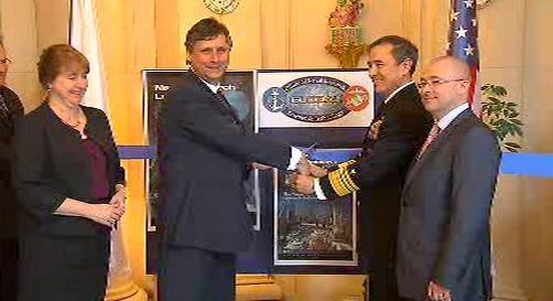 Otevření amerického Ústavu pro námořní výzkum