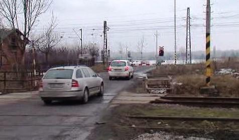 Železniční přejezd