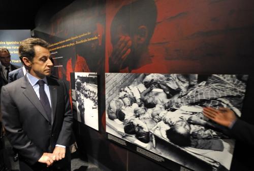 Nicolas Sarkozy ve Rwandě