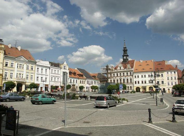 Náměstí v České Lípě