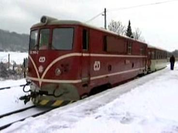 Vlak na úzkokolejce