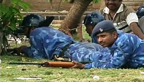 Indičtí vojáci v Bombaji