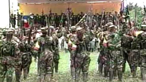 Levicoví kolumbijští povstalci