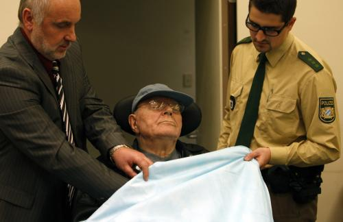 John Demjanjuk před soudem