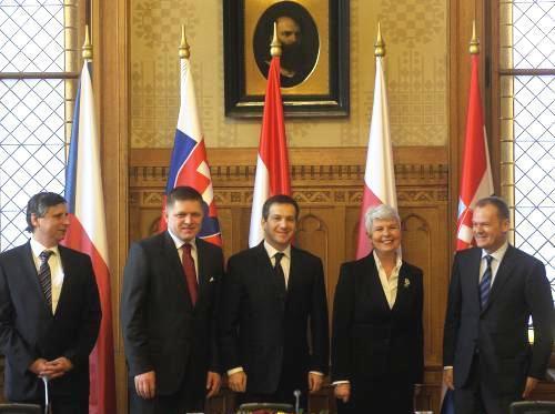 Setkání Visegrádské čtyřky