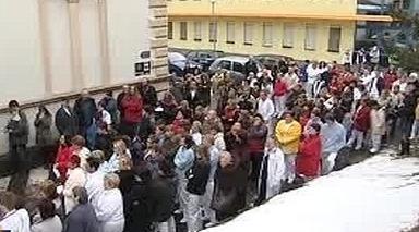 Protesty zdravotníků