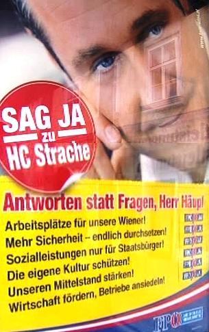 Nabízíme odpovědi, nikoliv otázky, hlásí FPÖ