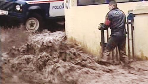 Povodně na Madeiře