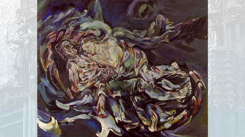 Oskar Kokoschka - Nevěsta větru
