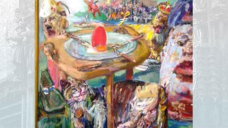 Kokoschkův obraz o mnichovské zradě