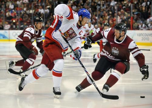 Zápas Česko - Lotyšsko