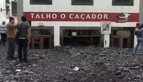 Následky povodní na Madeiře